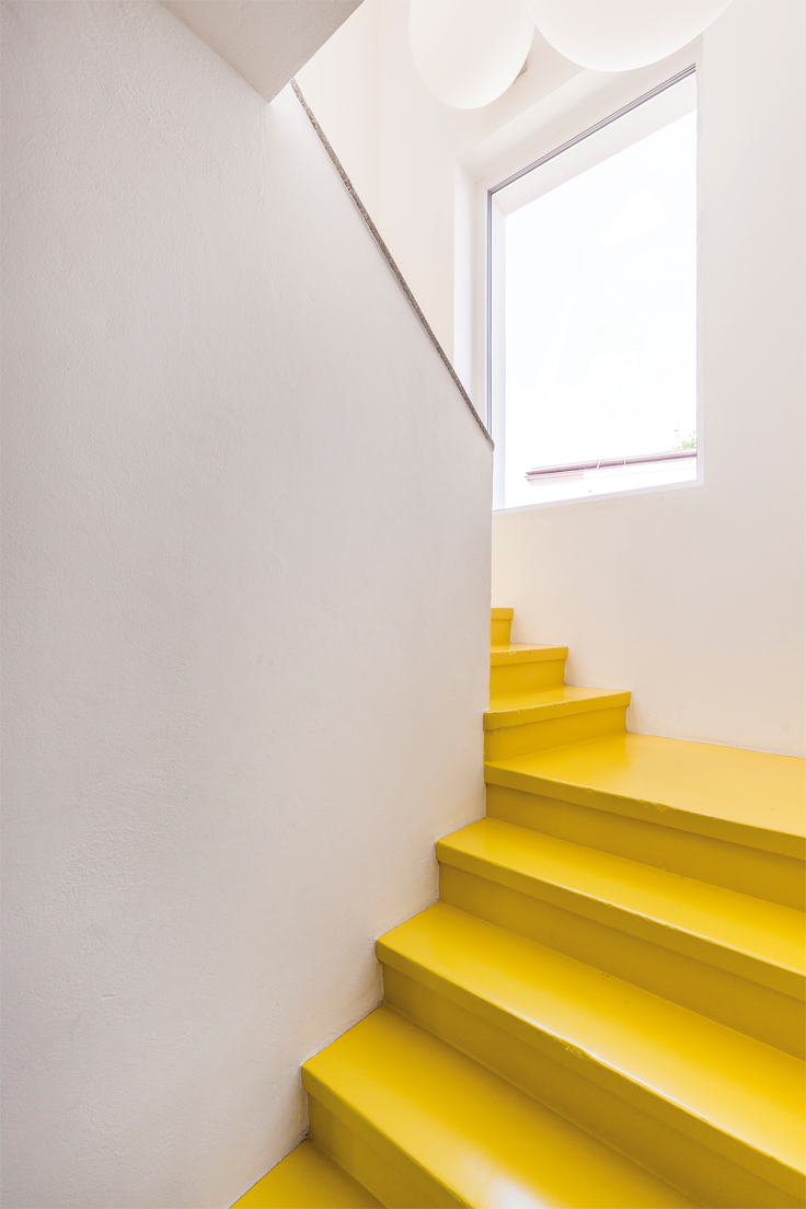 Trendkleuren Staircases Color inspiration and Lofts
