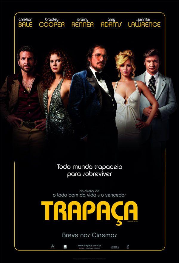 Trapaca American Hustle 2014 Filmes American Hustle Capas