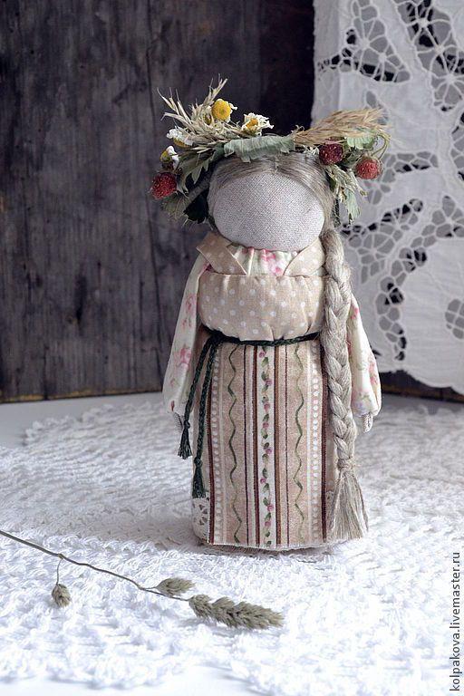 Народные куклы ручной работы. куколка-оберег Лада