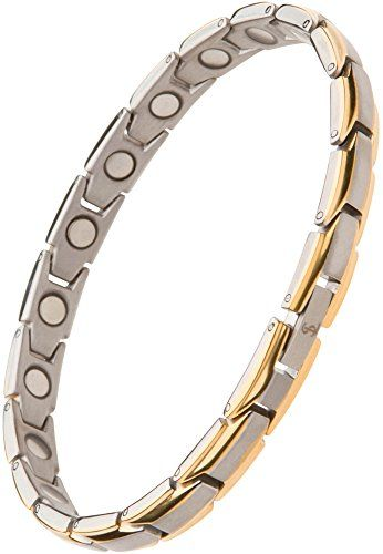 Elegant Womens Anium Magnetic Therapy Bracelet Pain Re
