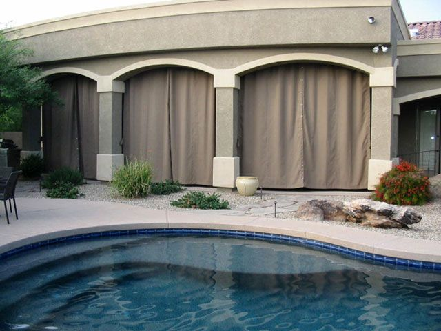 1000 Images About Patio Curtains On Pinterest Tropical