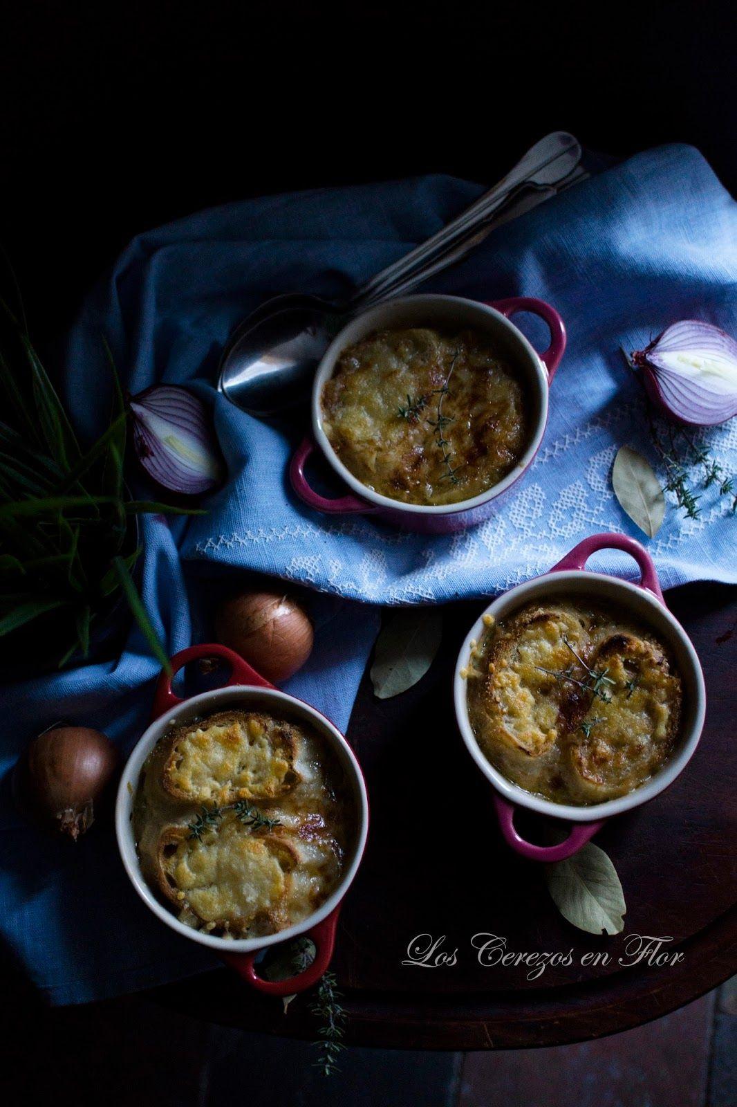 Los Cerezos En Flor Sopa De Cebolla Y Shepherd S Pie Cooking
