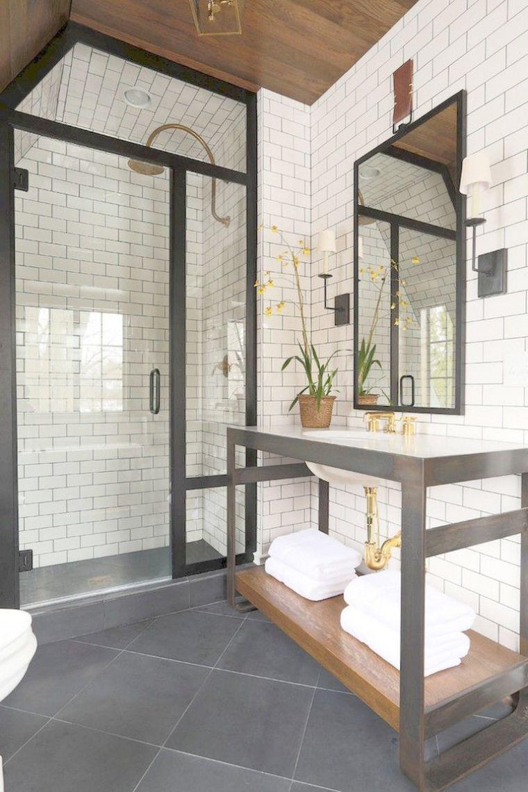 Bathroom Cabinets Bellingham Despite Master Bathroom Ideas Pinterest Bathroom Tile Ide Farmhouse Master Bathroom Master Bathroom Decor Bathroom Remodel Master