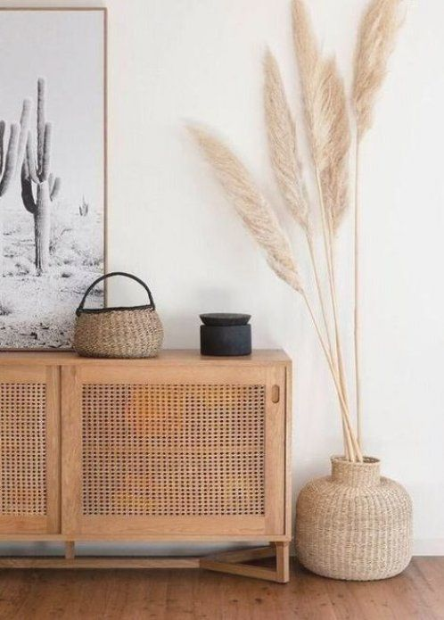 Photo of Love this hallway with its desert boho vibes – all you need is pampas grass and …