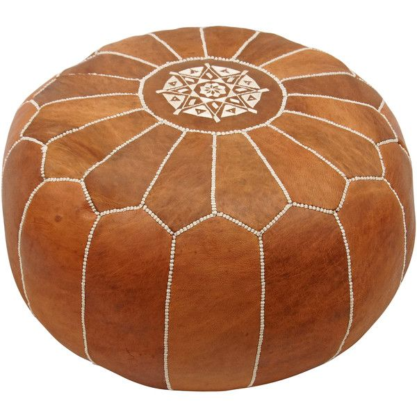 Martil Ottoman In Multiple Colors Design By NuLoom €40 Liked New Nuloom Moroccan Pouf