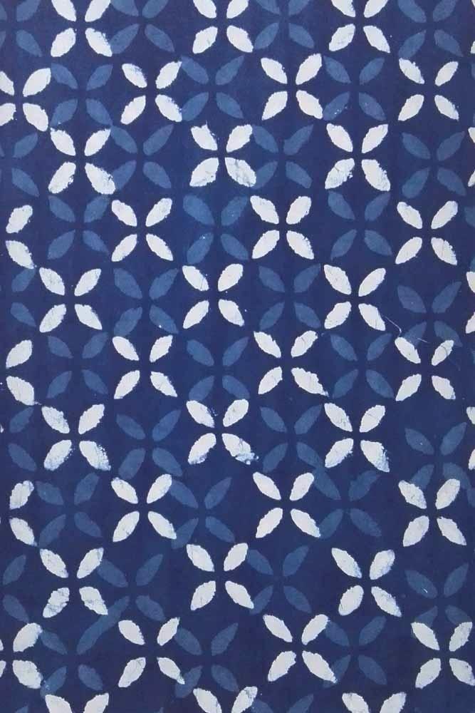 Dabu Hand Block Printed Cotton Fabric