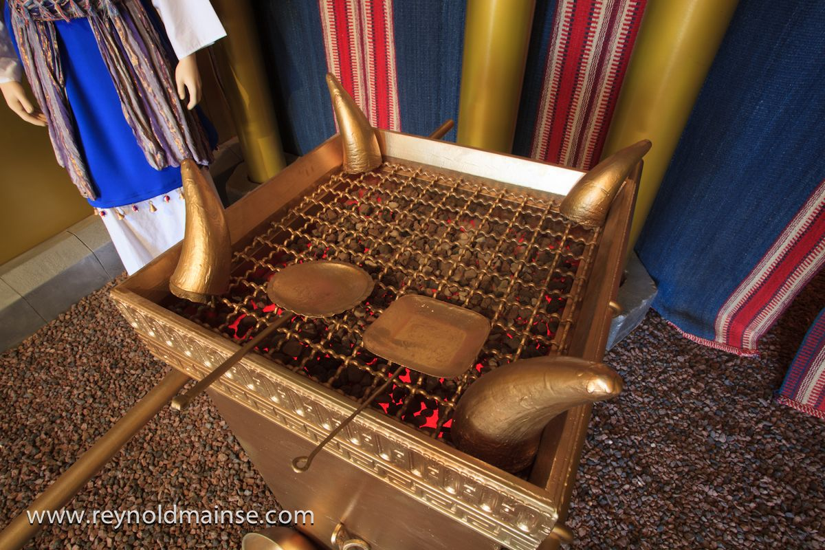 this is a replica of the altar of incense in the