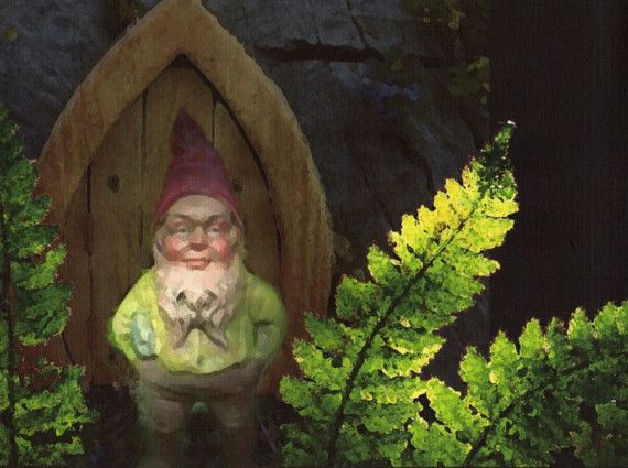 Fancy meeting you here - Gnome Home