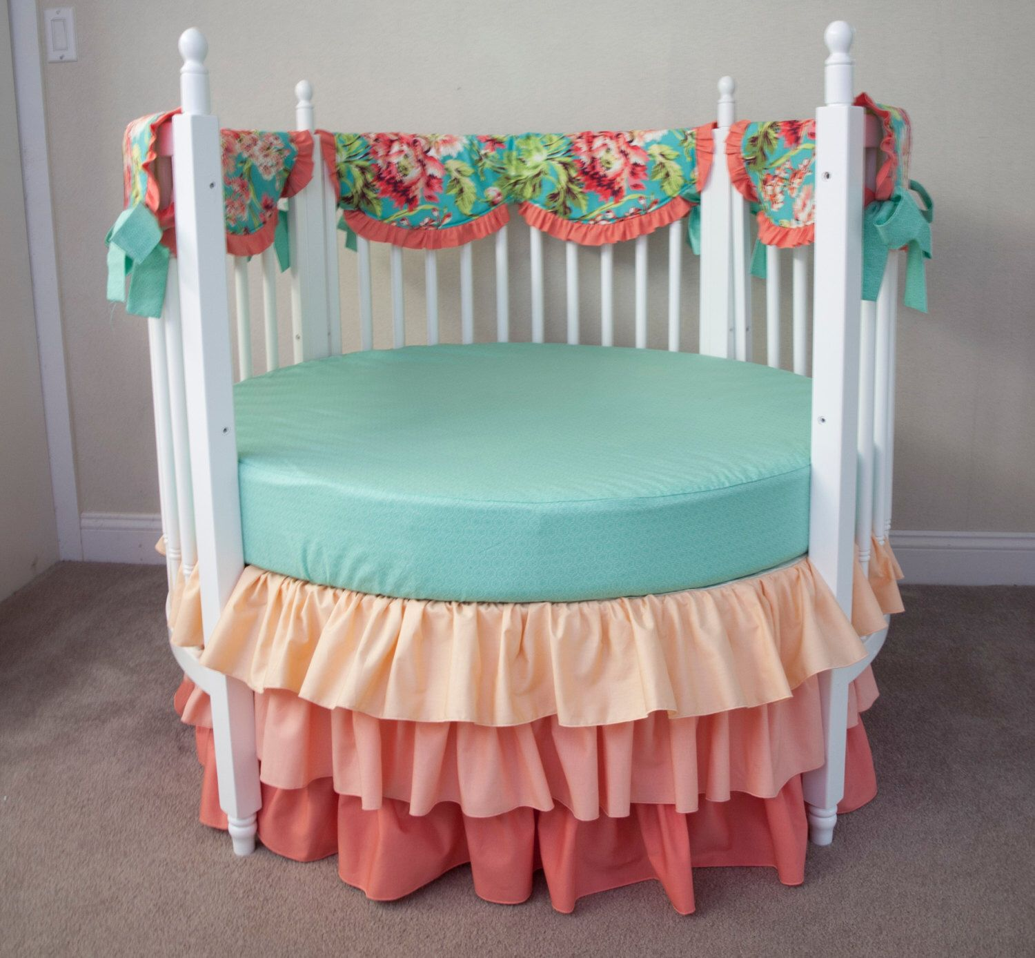 polka plain full pink nursery grey of sheet baby infant modern teal and the shell jill blue set bumper skirt jack sheets size bedding orange crib new revealed arrivals cot gray mystery piece dot carnival elephant turquoise cribs aqua peanut