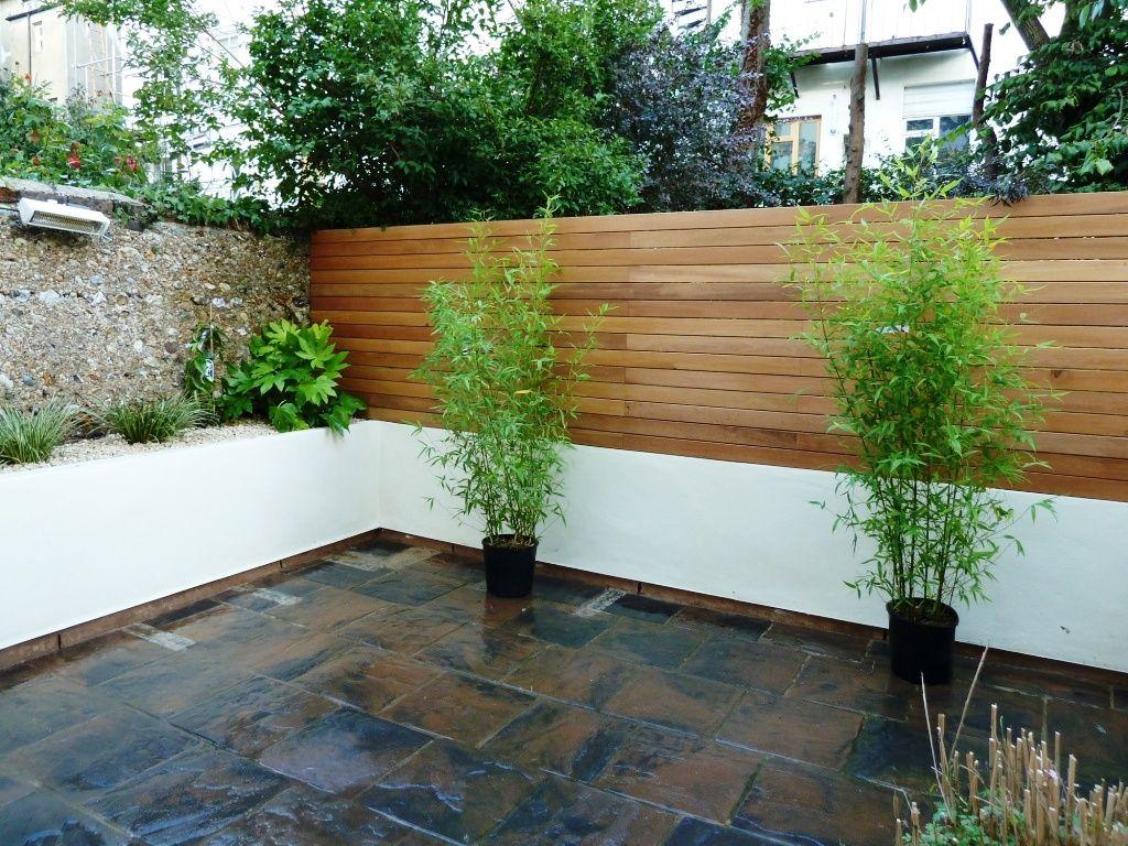 Balau decking Brighton | Jardin | Garden, Wall et Fence