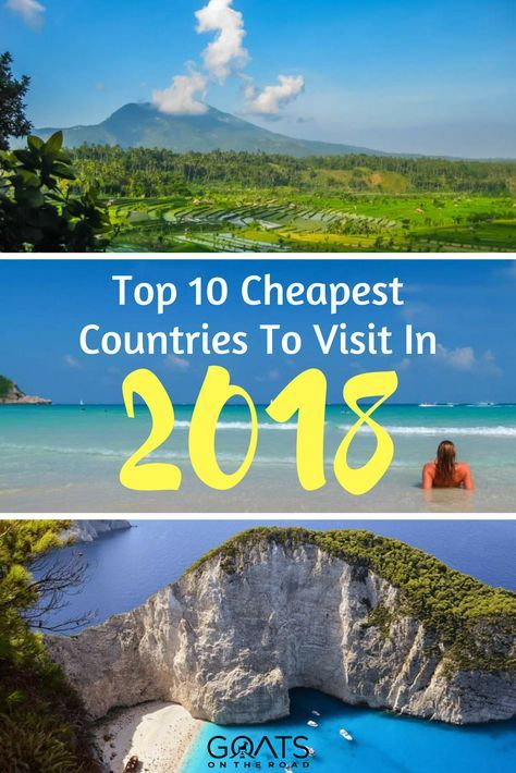 Top 10 Cheapest Countries To Visit in 2018 | Destinations and Vacation
