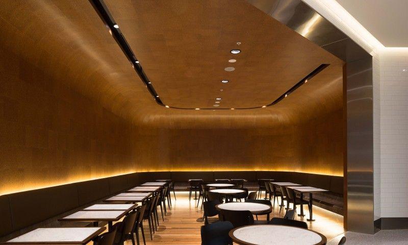 Canberra centre food court lighting design by electrolight