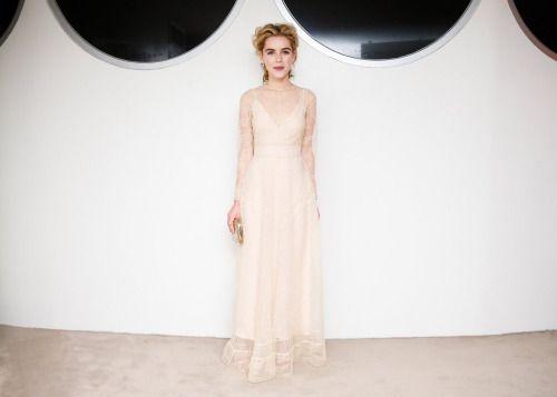 jeeez - louise :  Kiernan Shipka Christian Dior à la ...  #Mode - http://goo.gl/ODHunw