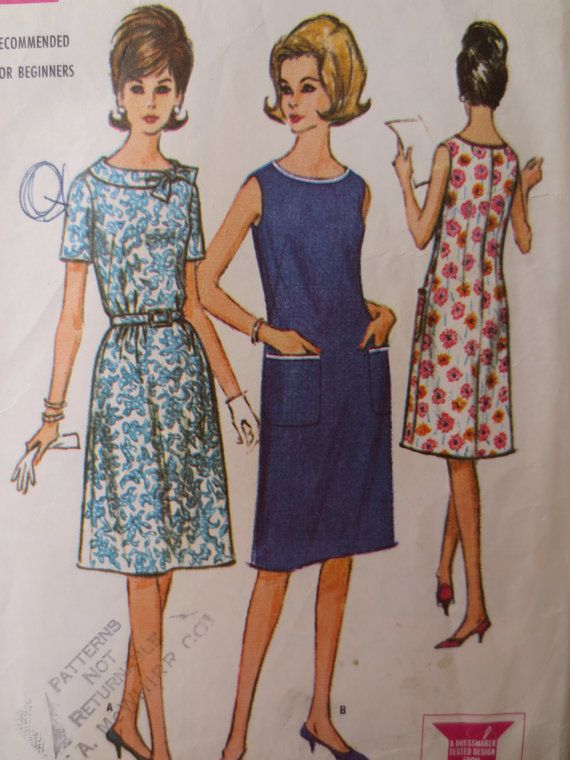 Pin On Vintage 1960s Sewing Patterns