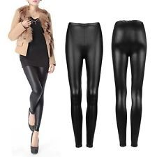 Sexy Women Faux PU Leather Skinny Pencil Pants Tights Trousers SL | eBay
