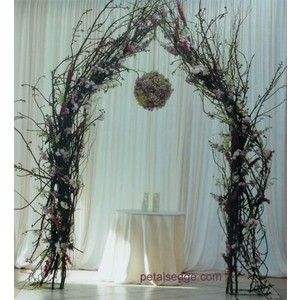How To Make An Arch Out Of Branches