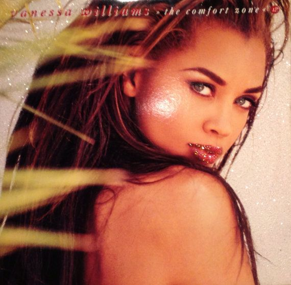 Glittered Vanessa Williams The Comfort Zone Vinyl Record Album