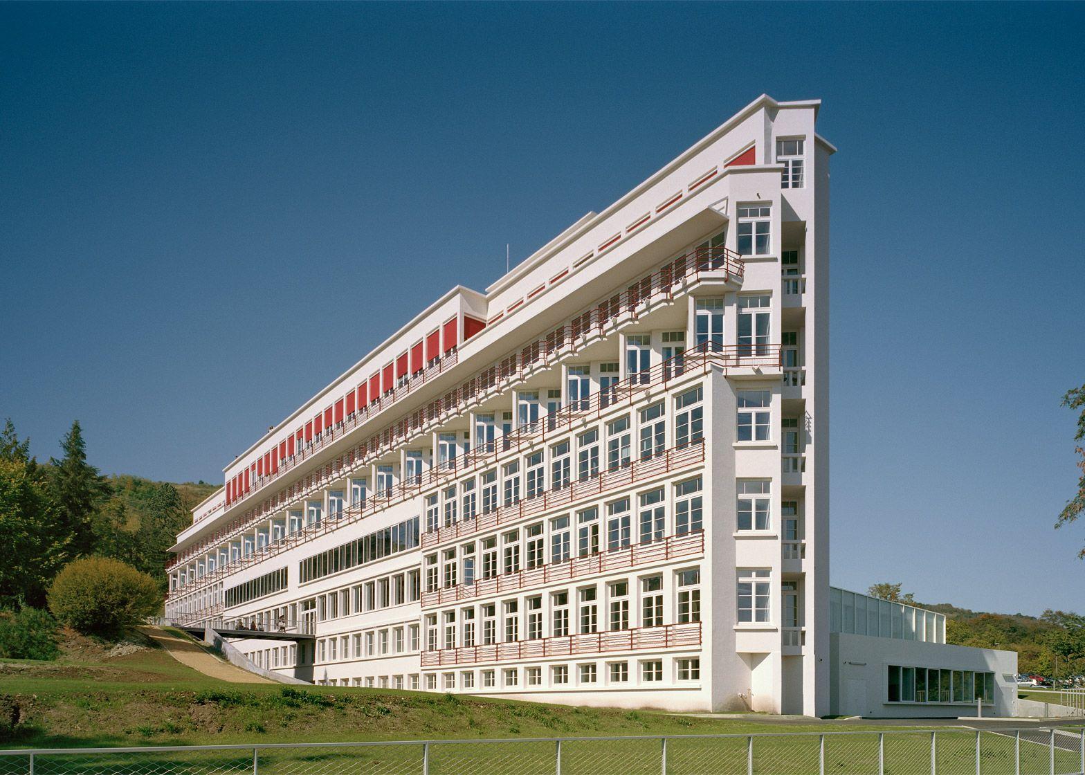 École D Architecture Clermont old sanatorium turned into clermont-ferrand school of