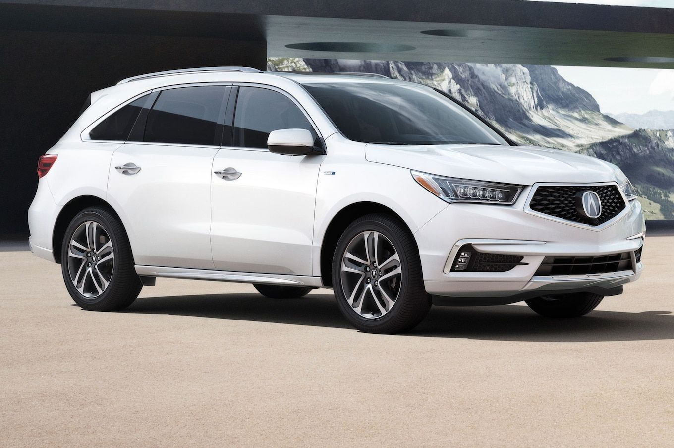 2017 Acura Mdx First Look Review Motor Trend Acura Suv Suv Acura Mdx