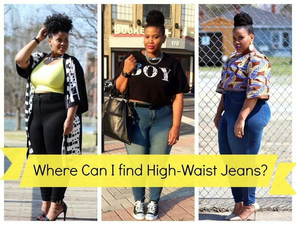 Plus size high waisted jeans. ..a must have | Beyonce u0026 Jay-Z concert!!!! Me u0026 My Boo | Pinterest