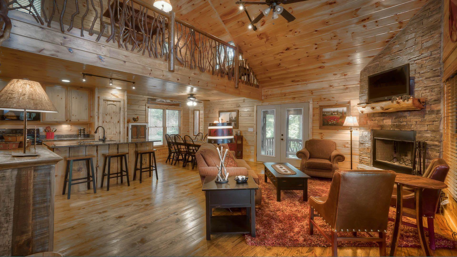 Fightingtown Creek Lodge Rental Cabin Blue Ridge Ga Lodge Rentals Cabin Outdoor Wood Burning Fireplace