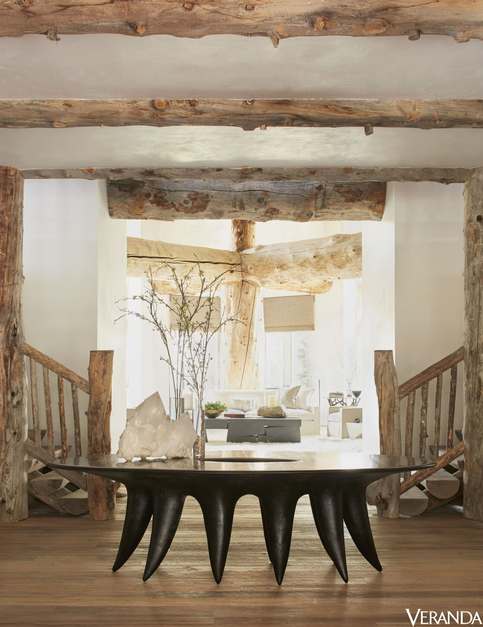 Step Inside An Airy Aspen Home That Brings Nature Indoors  Aspen Amazing Aspen Home Dining Room Furniture Decorating Design