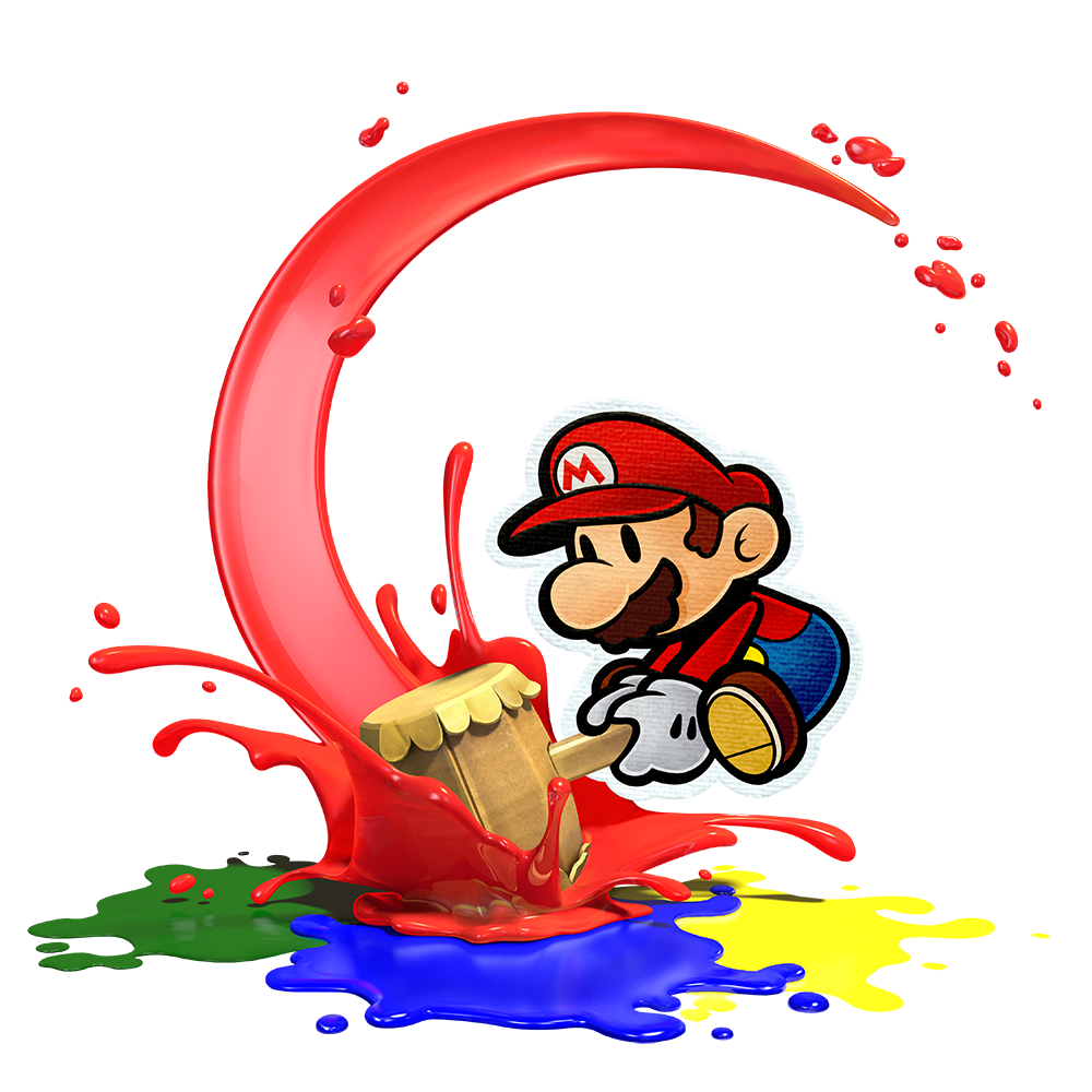 Paper Mario Color Splash | NAB big 6 | Pinterest | Cumpleaños mario ...