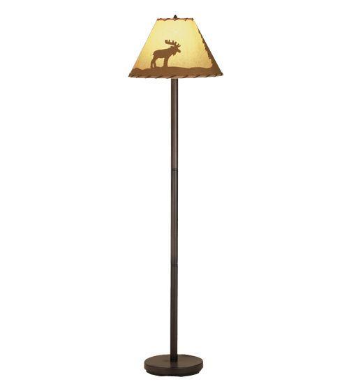 Meyda 48464 lone moose painted floor lamp 60 tall meyda meyda 48464 lone moose painted floor lamp 60 tall meyda tiffanystyle aloadofball Gallery