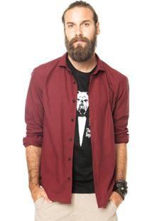 camisa manga longa ellus vinho - Google Search