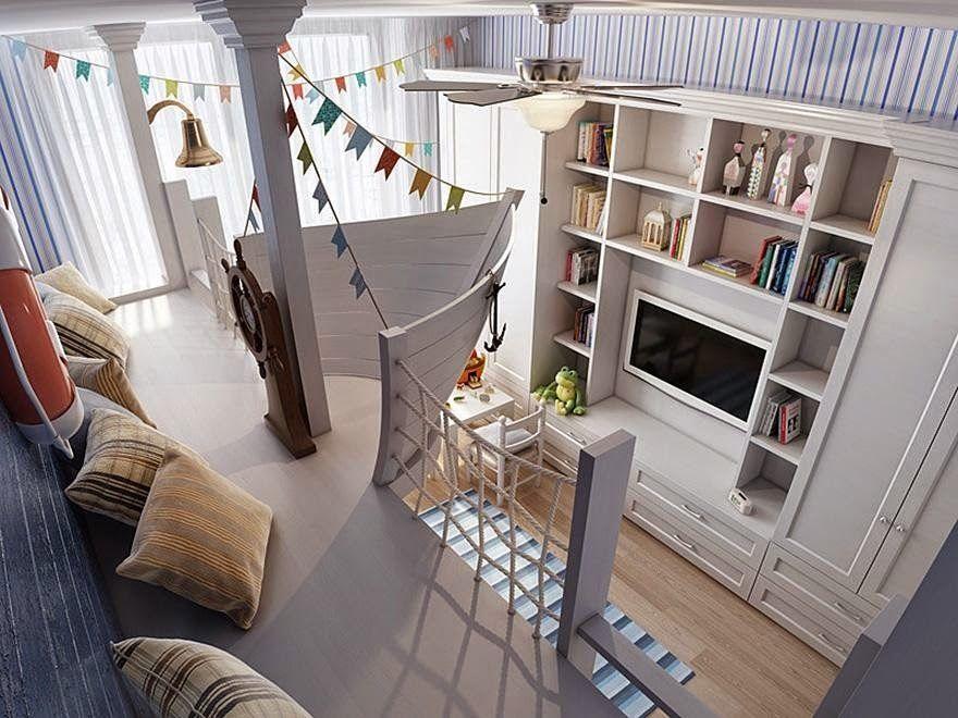 Aguinerd: Designers criam incríveis quartos para crianças