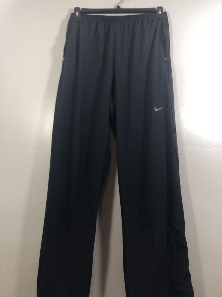 Nike Fit Dry Mens Jogging Sweat Pants Zip Ankle Large Work Out Elastic  Waist  fashion  clothing  shoes  accessories  mensclothing  activewear  (ebay link) 4d992512fb4