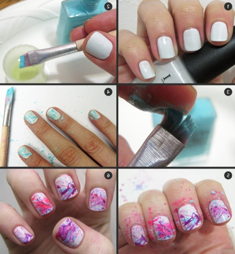 Nail Art Simple Step By Step: Easy Step By Step Nail Art