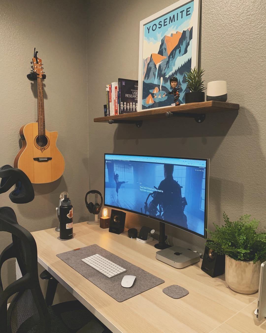 Setup Apple Mac Mini Decoracao Quarto Gamer Camas Criativas