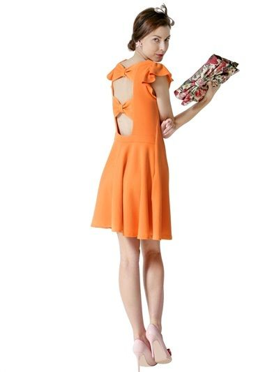 71bead243d83 RED Valentino Double Jersey Dress on shopstyle.com   Womens Fashion ...