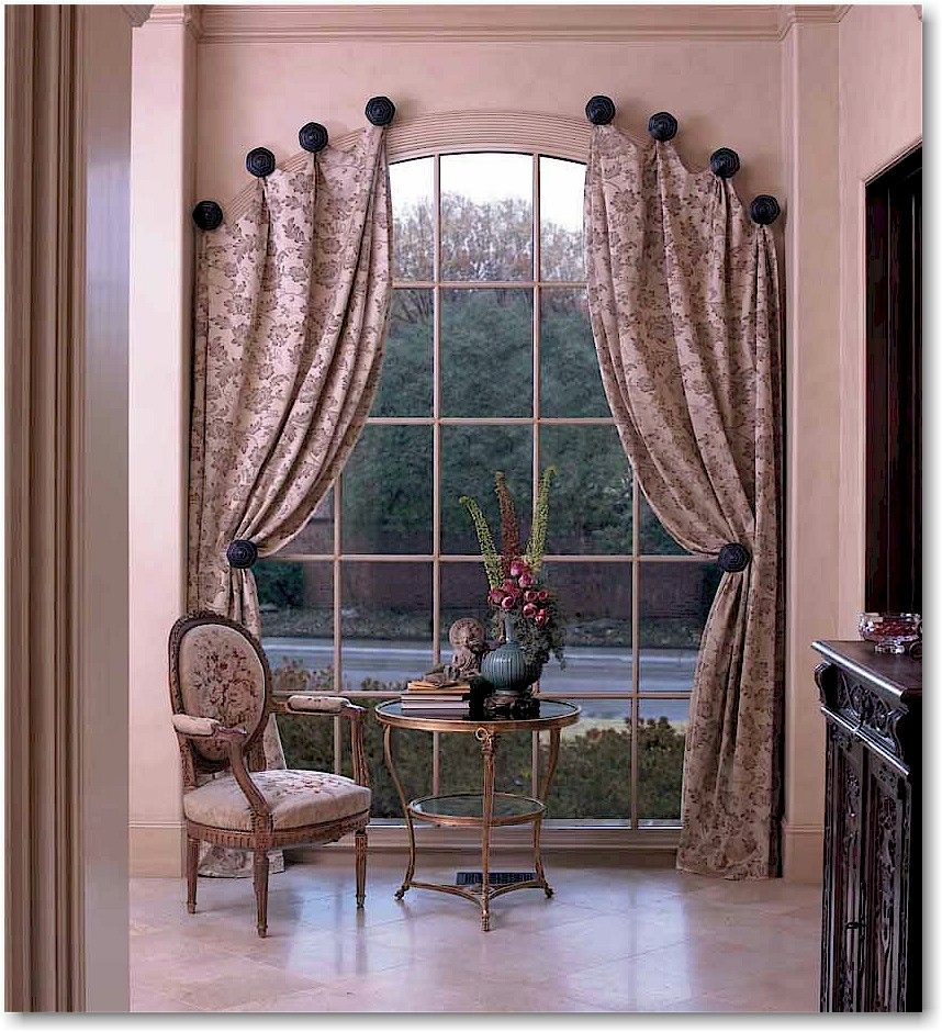 Window covering ideas  featured here kirsch metal accessories drapery hardware in an