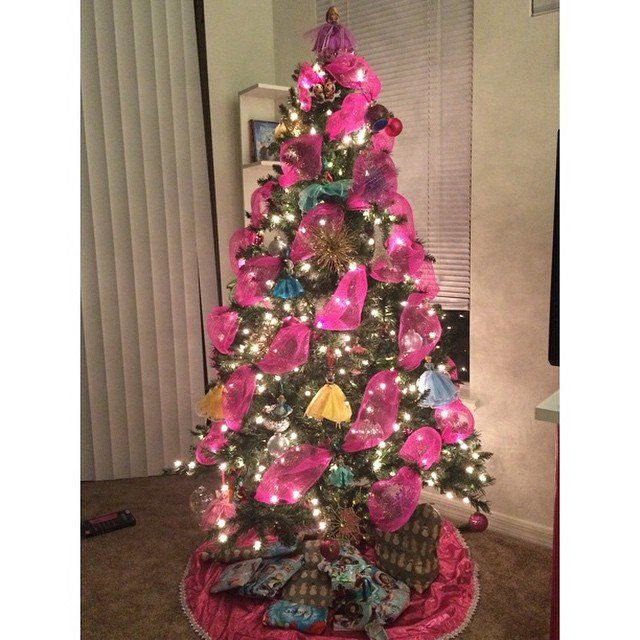 Princess Christmas Tree Disney Christmas Tree Disney Christmas Tree Decorations Disney Christmas