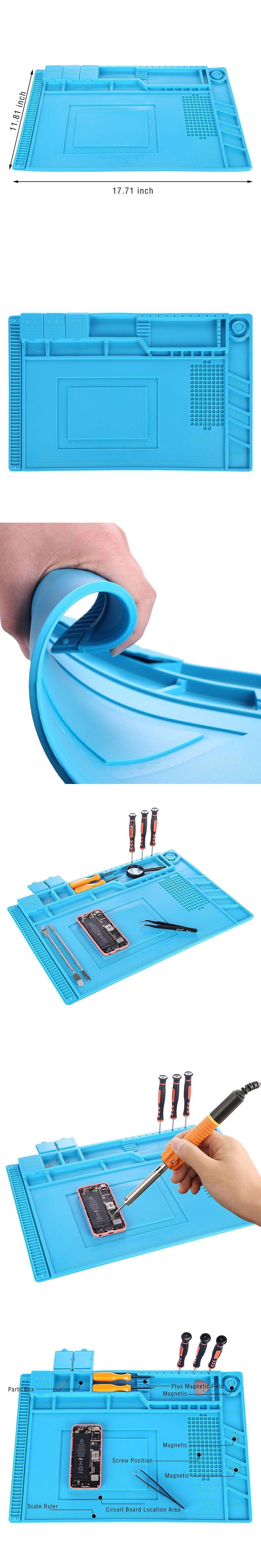 Silicone Soldering Mat 177118 Bga Station Electrician Tools Tool Kit 12 Different Circuit Board Phone Repair Pad