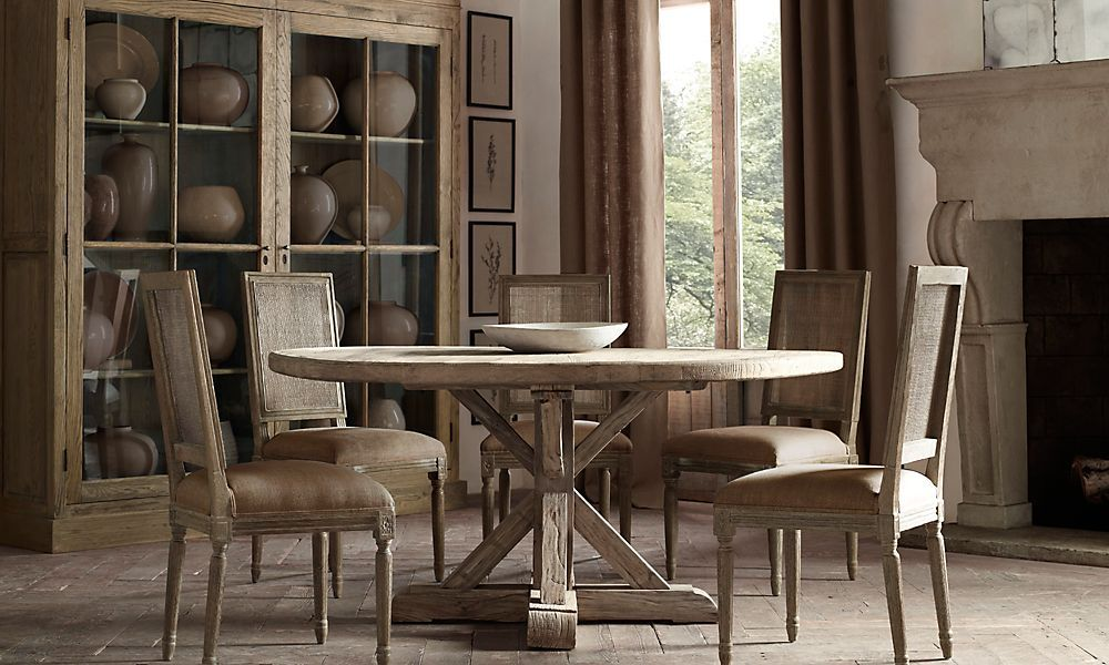 Restoration Hardware   Dining table in kitchen, Dining ...