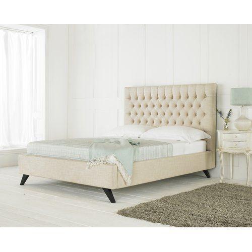 Rosalind Wheeler Middleville Upholstered Bed Frame Upholstered Bed Frame Upholstered Beds Bed Frame With Mattress