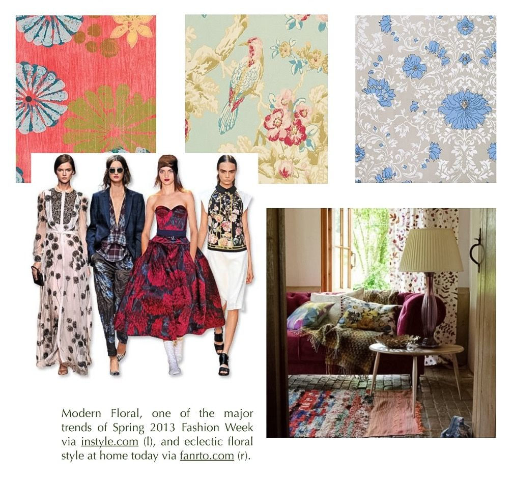 Window decor and more orange beach  read about floral influences in decorating and fashion throughout