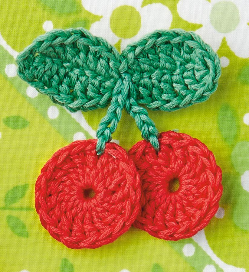 Crochet Cherry Pattern A Free Kit With Every Issue Of Mollie Makes