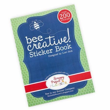 Bee Creative Sticker Book by Lori Holt of Bee in My Bonnet for It's Sew Emma