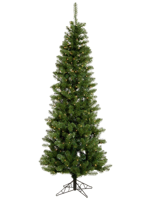 Salem Pencil Pine Instant Tree Led Pencil Christmas Tree Unlit Christmas Trees Pre Lit Christmas Tree