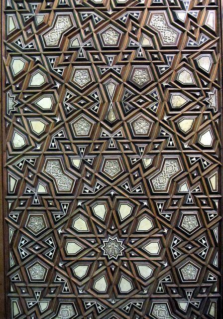 Pretty Islamic Pattern Al Rifa I Mosque Cairo Egypt Geometri