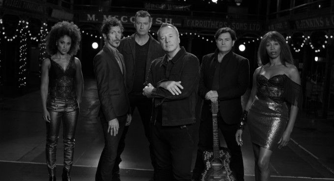 Concierto de Simple Minds en Barcelona