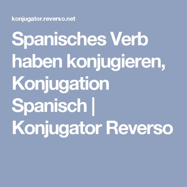 Attractive Konjugieren Von Verben In Spanisch Arbeitsblatt Pictures ...