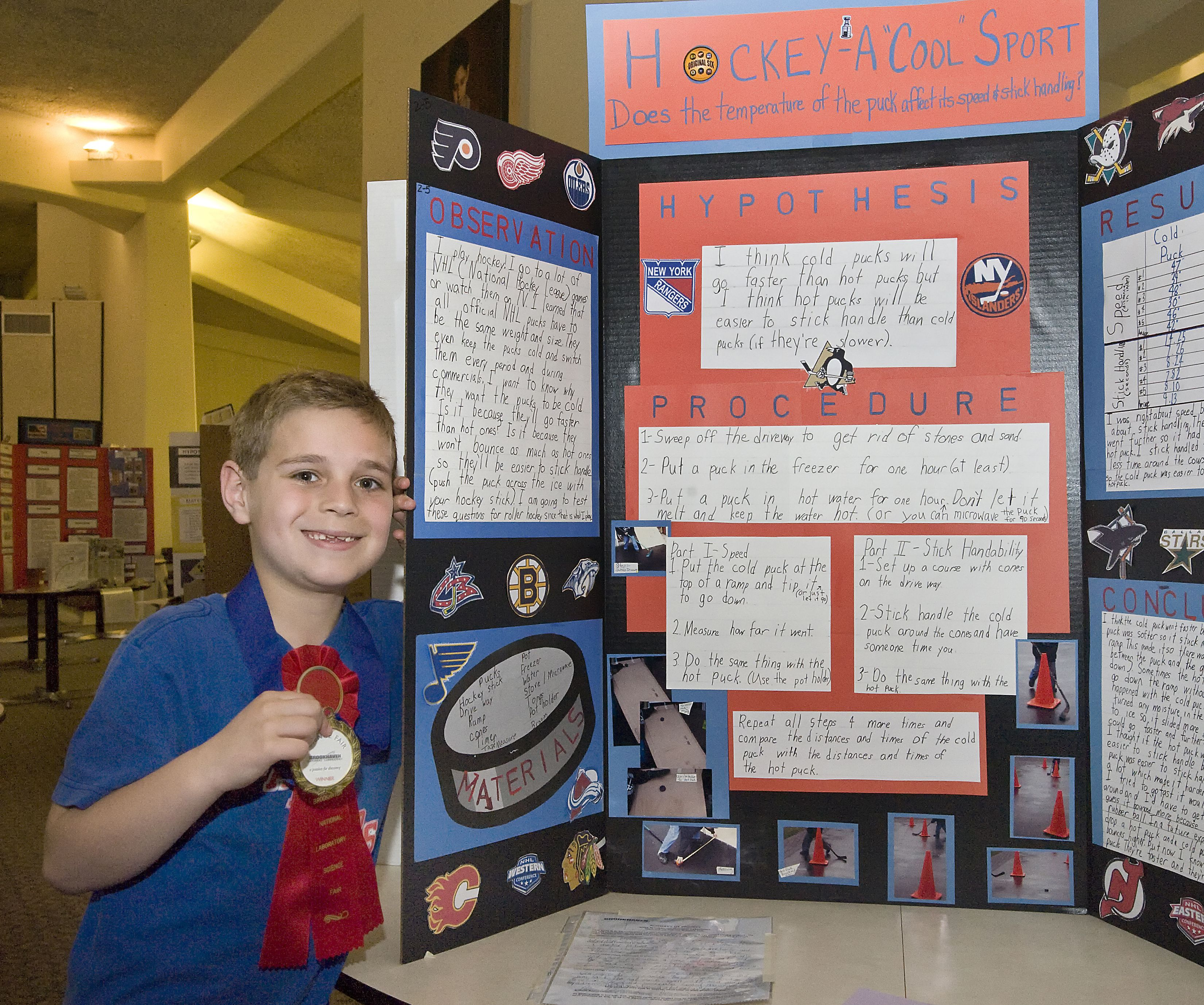 hockey science fair project |  to wind energy – winning projects