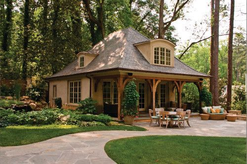 House Small House With A Big Porch Imgur Big Porch Pool House House