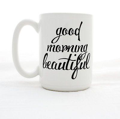 Milk & Honey Luxuries Good Morning Beautiful 15oz Mug