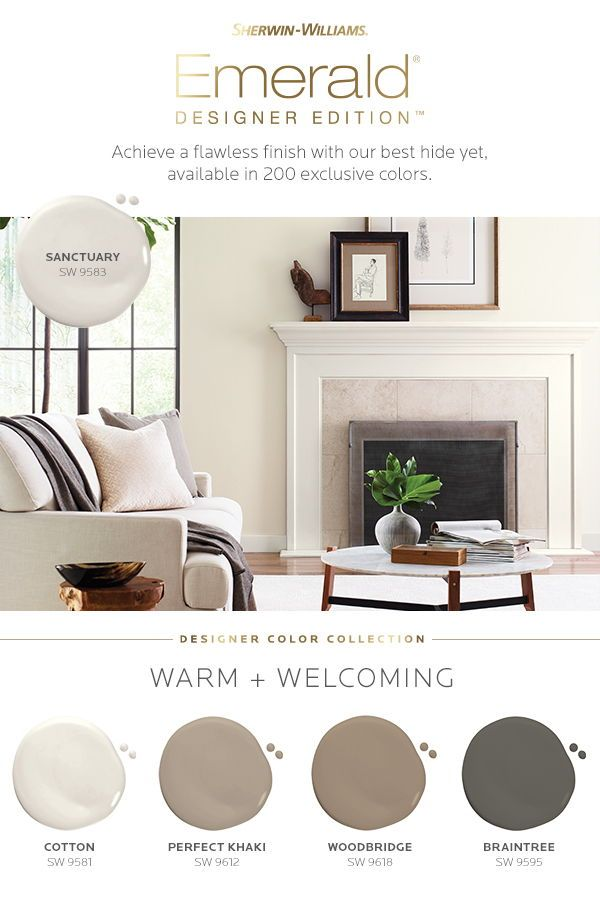 Sherwin Williams Warm Welcoming Palette Paint Colors For Living Room Living Room Warm Color Palette Living Room